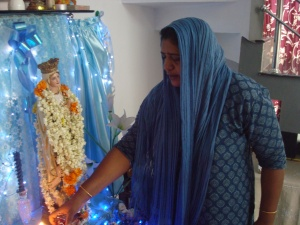A visit from Mother Mary